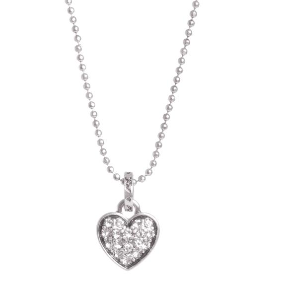Колье(2032-2108)Подарки к Дню Святого Валентина<br>Колье с подвеской в форме маленького сердечка. Длина цепочки 38 см.<br>