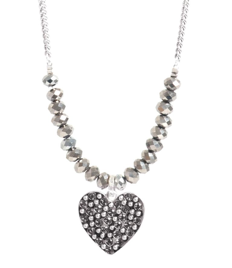 Колье(2032-2317)Подарки к Дню Святого Валентина<br>Neckl. 45cm+extn. Love Actually S, heart pendant<br>