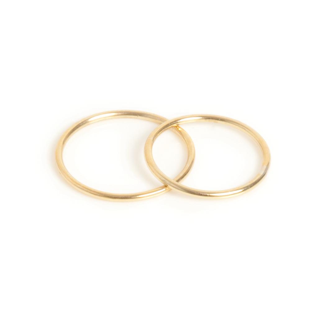 Набор колец (второе кольцо на вторую фалангу)(4027-0565)Charlotte<br>Размер кольца 17см<br>