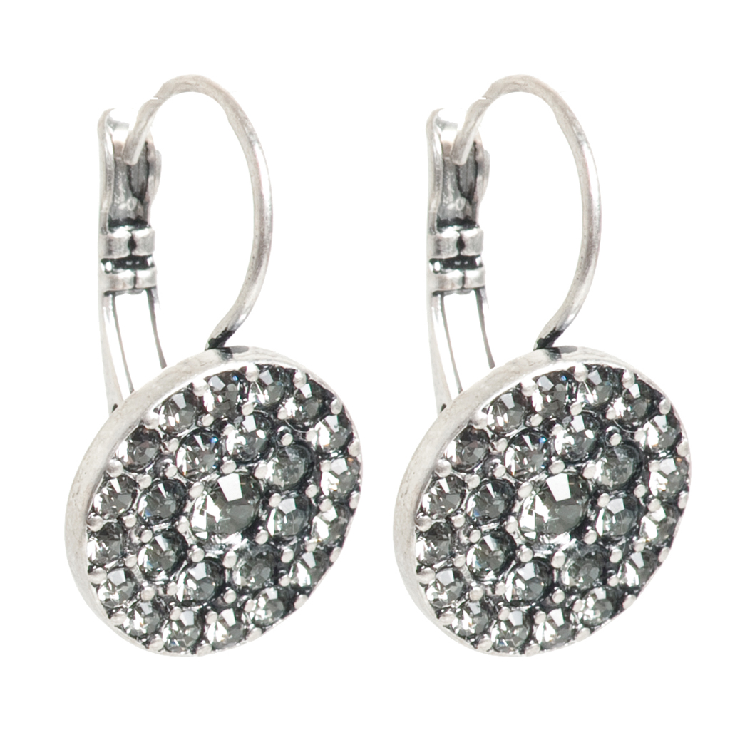 Серьги с серебряным покрытием(1032-2301)Элегантность<br>Серьги с серебряным покрытием<br>