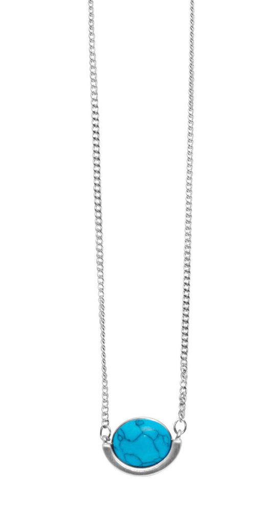 Колье с натуральным камнем(9A606)Philippa<br>Дания, Dansk Smykkekunst<br><br>Длина колье 70 см<br>Размер декоративного элемента<br>