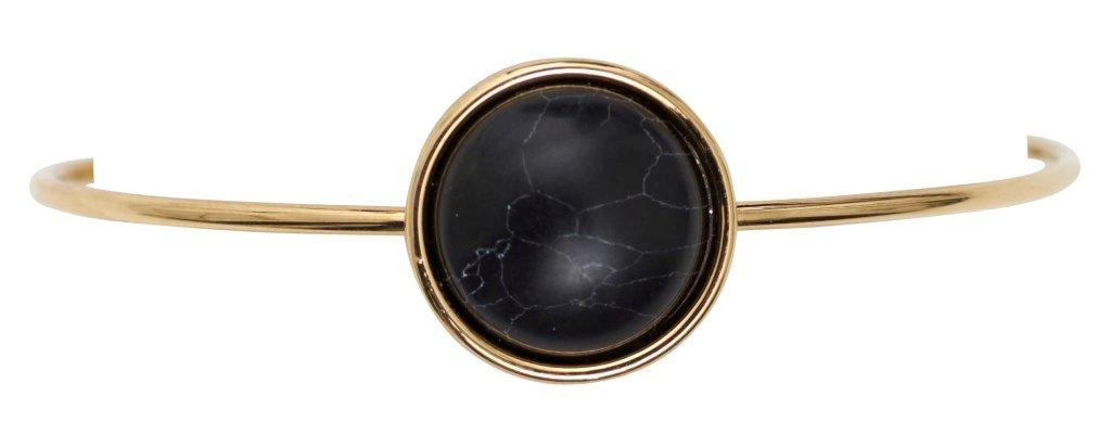 Браслет с натуральным камнем(7A304)Philippa<br>Дания, Dansk Smykkekunst<br><br>Диаметр декоративного элемента<br>