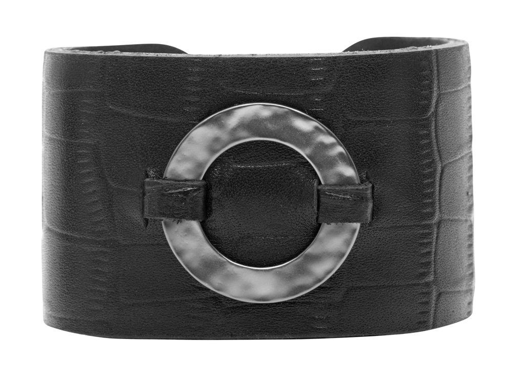 Браслет кожаный, широкий(7C943)Paloma<br>Дания, Dansk Smykkekunst<br><br>Ширина браслета 4см.<br><br>Наличие: 2шт<br>