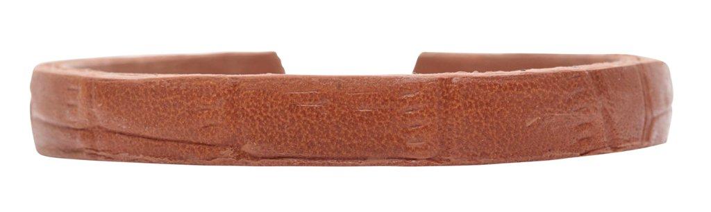 Браслет кожаный(7C951)Paloma<br>Дания, Dansk Smykkekunst<br><br>Ширина браслета 0,8см. диаметр 5,5см<br>