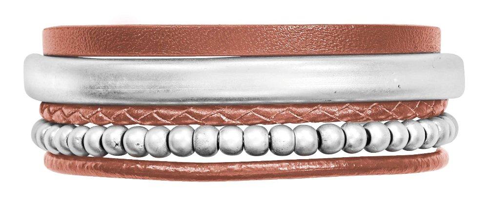 Браслет кожаный(7C991)Paloma<br>Браслет ширина 2,5см.<br><br>Наличие: 1шт.<br>