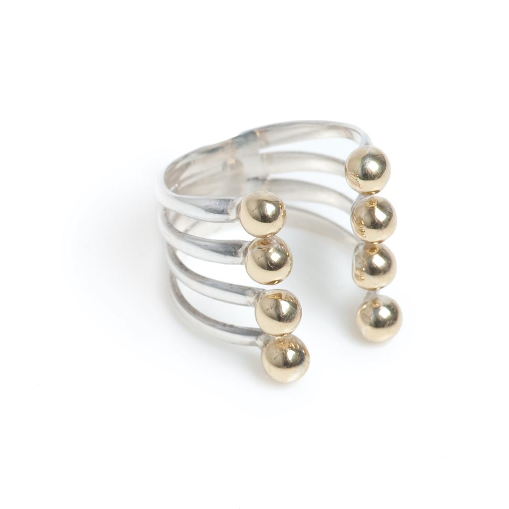 Кольцо на вторую фалангу(4027-0612)Ball<br>Кольцо на вторую фалангу<br>