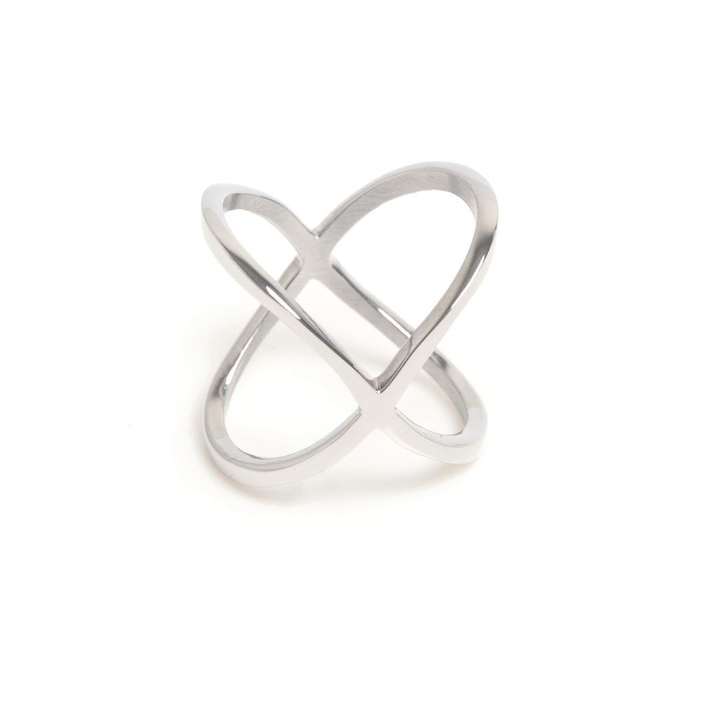 Кольцо из стали(4046-0031)Бижутерия из стали от Arts&amp;Crafts<br>Arts&amp;Crafts, Норвегия<br><br>Авторский дизайн, ручная работа, ограниченный выпуск.<br>