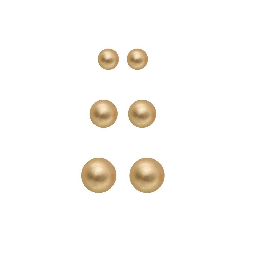 Набор серег(3H706)Rae<br>Дания, Dansk Smykkekunst<br><br>Гипоаллергенный сплав, покрытый золотом<br>