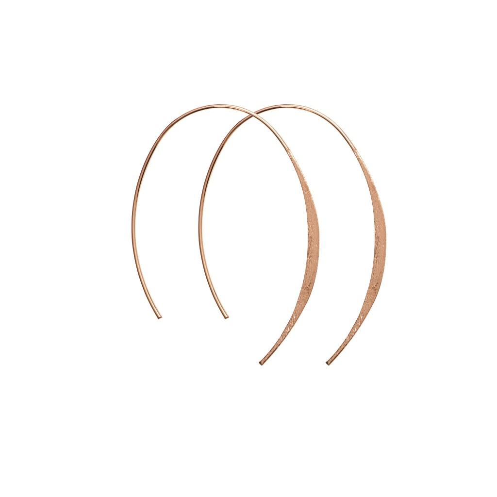 Серьги(3H526)Mix &amp; Match серьги<br>Дания, Dansk Smykkekunst<br><br> Гипоаллергенный сплав, покрытие золотом<br><br>Диаметр кольца 5 см<br>