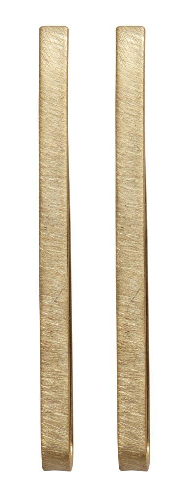 Серьги-петли(3H829)Mix &amp; Match серьги<br>Дания, Dansk Smykkekunst<br><br> Гипоаллергенный сплав, покрытие золотом,.<br><br>Длина серег 5,5 см<br>