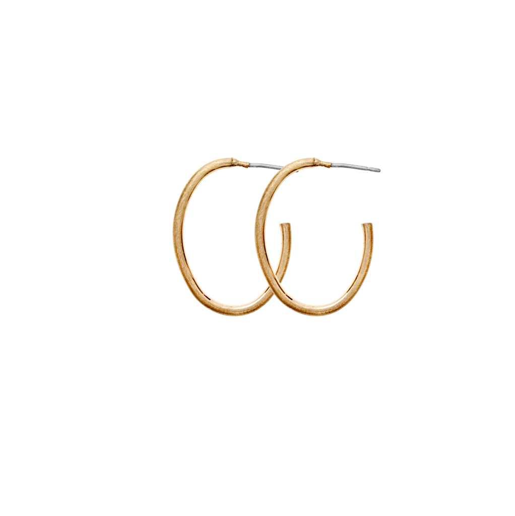 Серьги-кольца малые(3H726)Mix &amp; Match серьги<br>Дания, Dansk Smykkekunst<br><br> Гипоаллергенный сплав, покрытие золотом.<br><br>Диаметр кольца 2,5 см<br>