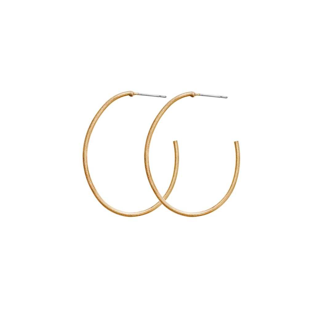 Серьги-кольца средние(3H722)Mix &amp; Match серьги<br>Дания, Dansk Smykkekunst<br><br> Гипоаллергенный сплав, покрытие золотом, стразы Swarovski<br><br>Диаметр кольца 4 см<br>