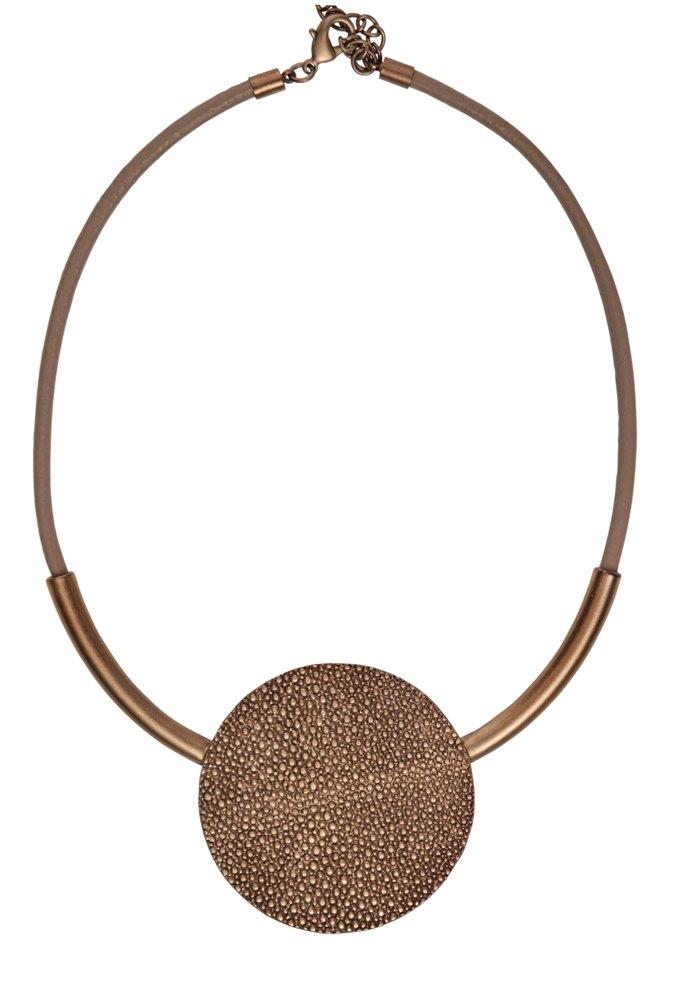 Колье(9C183)Shirley<br>Дания, Dansk Smykkekunst<br><br>Гипоаллергенный сплав, покрытый золотом<br><br>Длина колье 45 см<br>