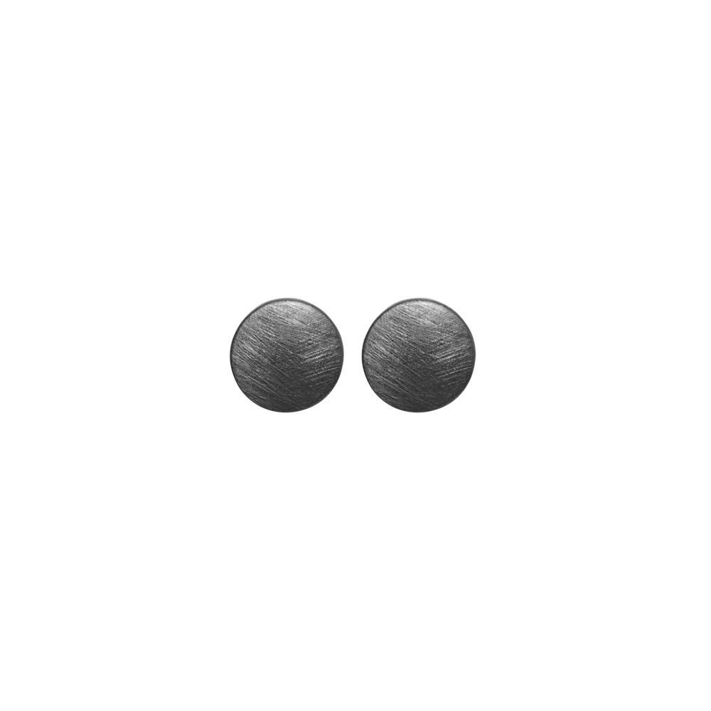 Серьги(3H951)Rosamunde<br>Дания, Dansk Smykkekunst<br><br>Гипоаллергенный сплав, покрытый гематитом<br><br><br>Диаметр декоративного элемента 1 см<br>