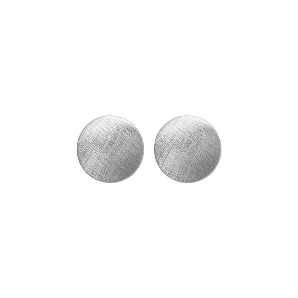 Серьги(3H950)Rosamunde<br>Дания, Dansk Smykkekunst<br><br>Гипоаллергенный сплав, покрытый  серебром<br><br><br>Диаметр декоративного элемента 1см<br>