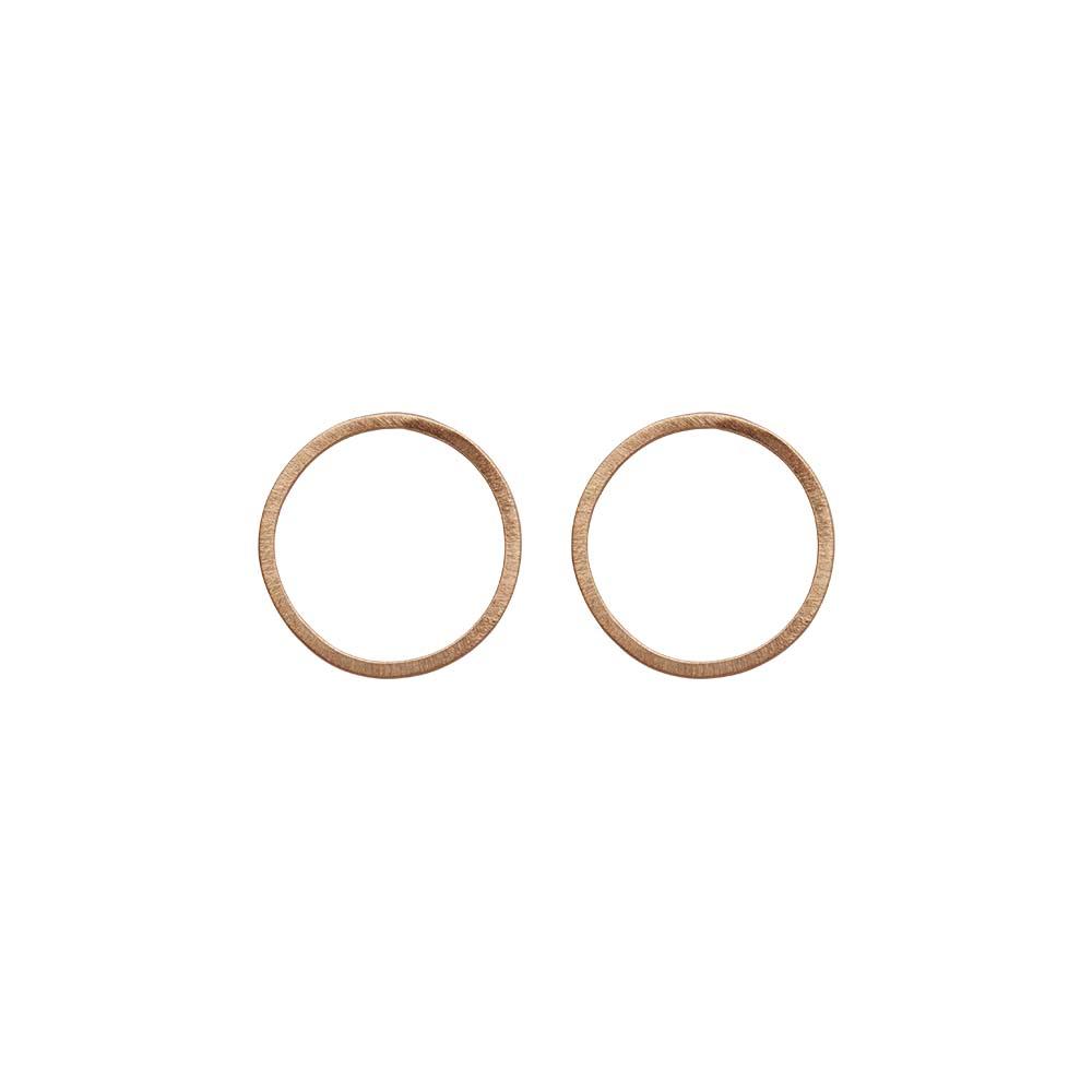 Серьги(3H937)Selina<br>Дания, Dansk Smykkekunst<br><br>Гипоаллергенный сплав, покрытый  золотом<br>Диаметр  декоративного элемента 2,5 см<br>