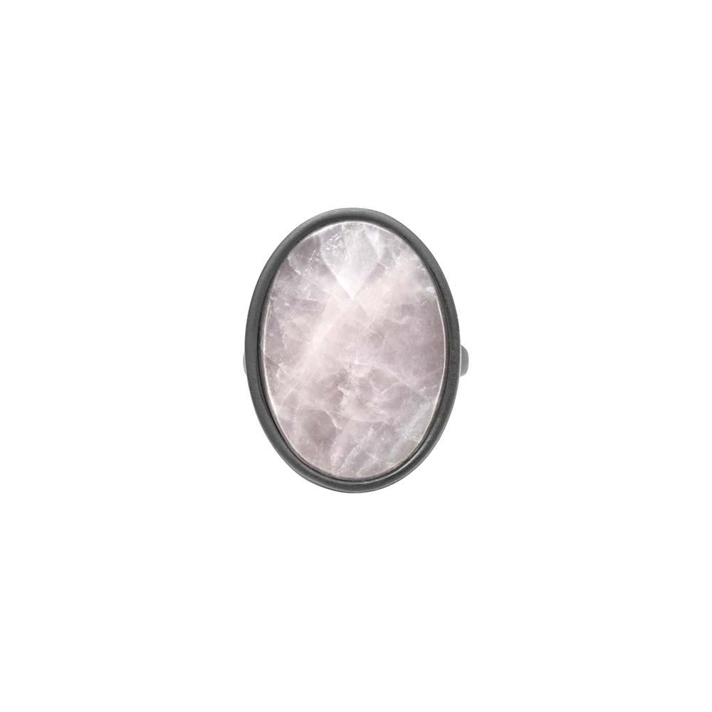 Кольцо(1C447)Sonny<br>Дания, Dansk Smykkekunst<br><br>Натуральный камень, металл, покрытый серебром<br>