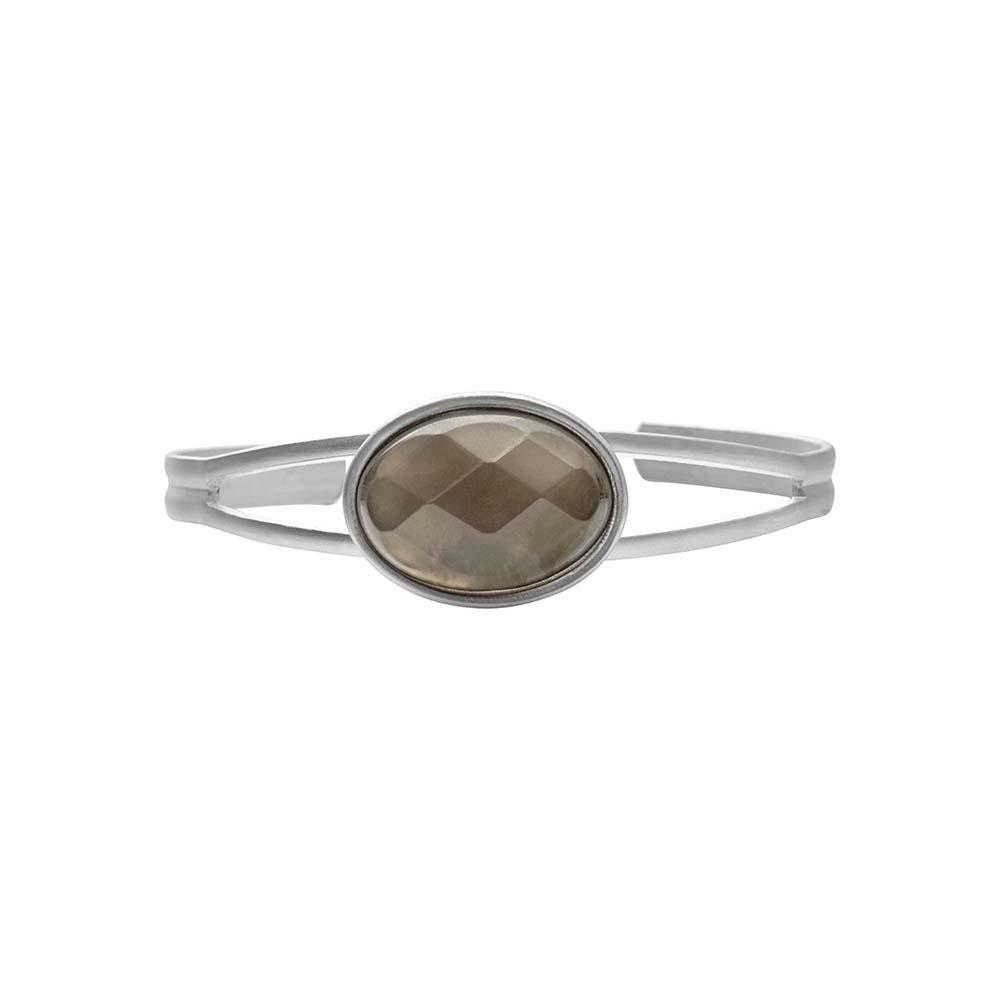 Браслет(7C238)Sonny<br>Дания, Dansk Smykkekunst<br><br>Натуральный камень, металл, покрытый серебром<br>