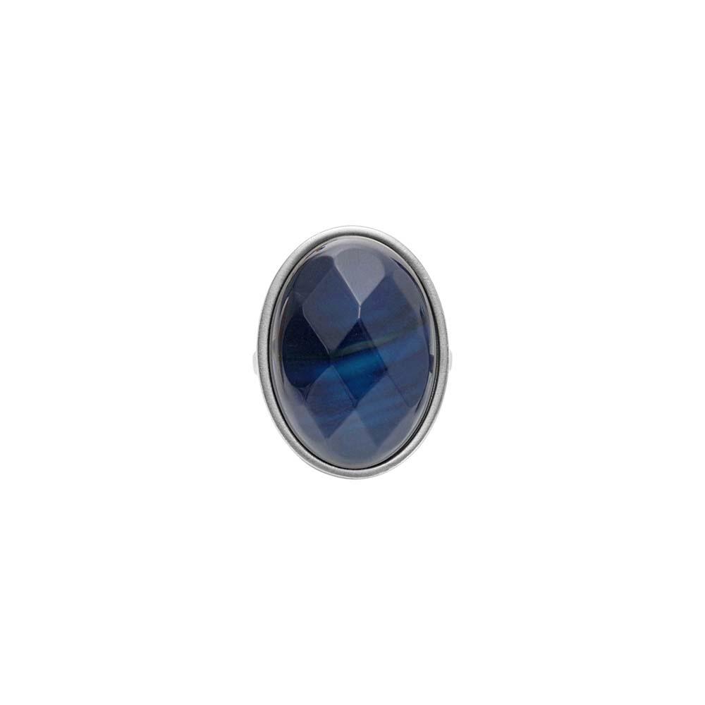 Кольцо(1C445)Sonny<br>Дания, Dansk Smykkekunst<br><br>Натуральный камень, металл, покрытый серебром<br>