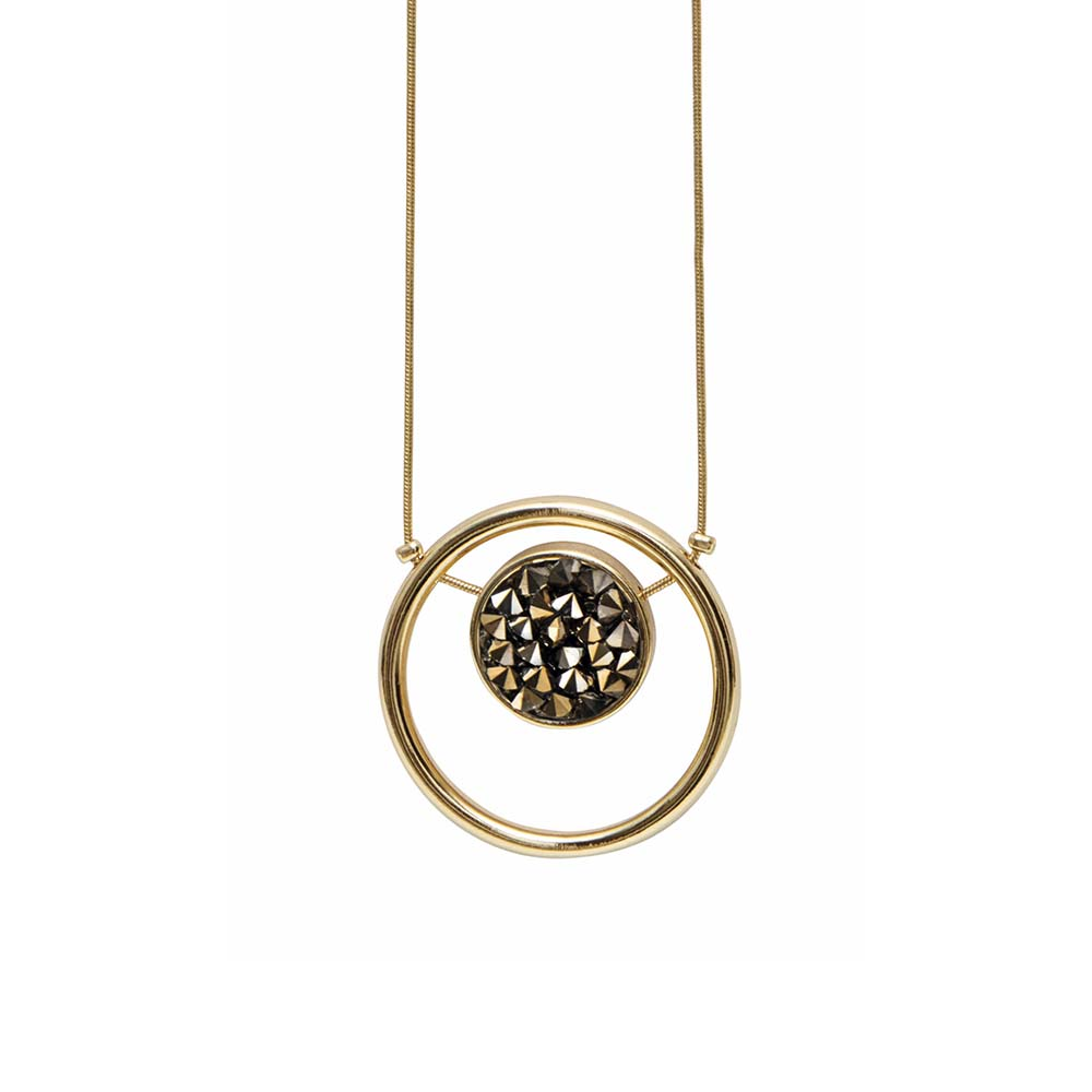 Колье(9H368)Regina<br>Дания, Dansk Smykkekunst<br><br>Гипоаллергенный сплав, покрытый золотом<br>Длина колье 110 см<br>