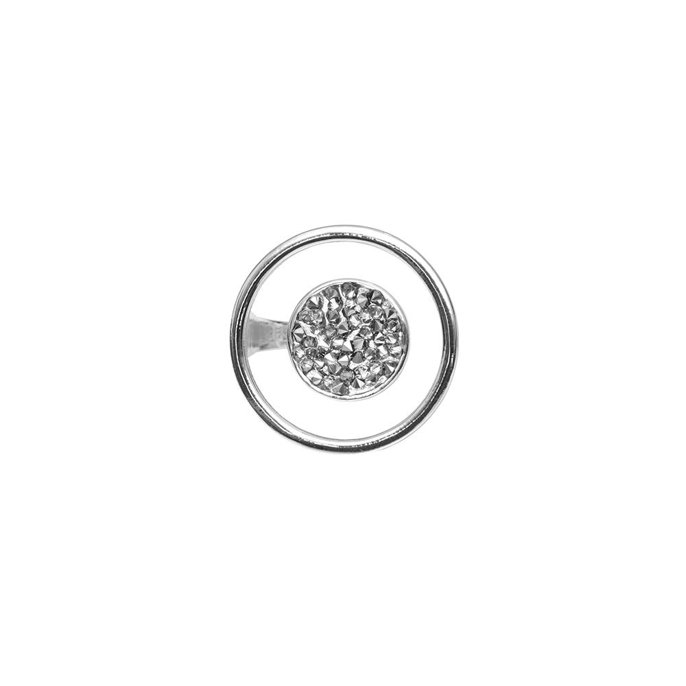 Кольцо(1H594)Regina<br>Дания, Dansk Smykkekunst<br><br>Гипоаллергенный сплав, покрытый серебром<br>