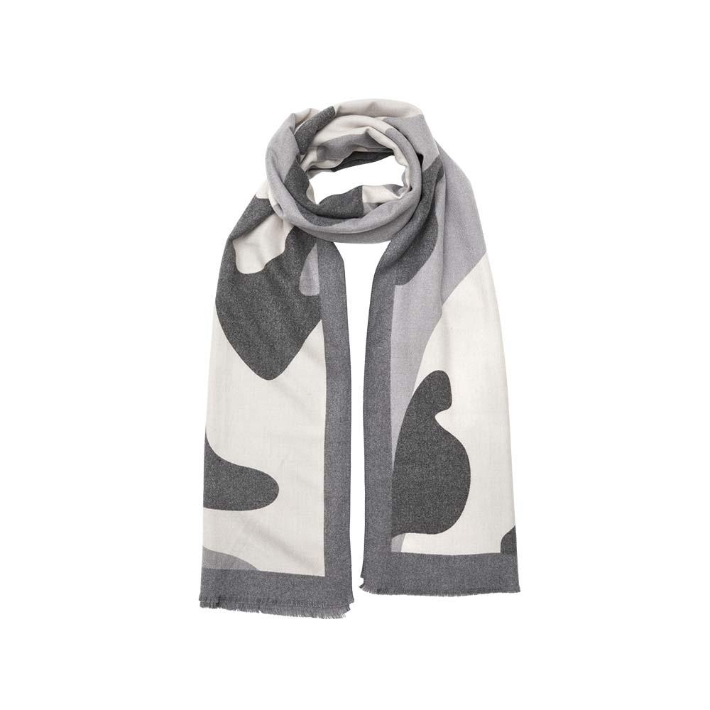 Палантин серый(6C402)Шарфы, платки, палантины из Дании, Dansk Smykkekunst<br>80 % хлопок 20 % кашемир<br>65 x 180 cm<br>