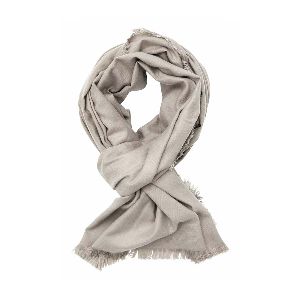 Палантин песочный(6C453)Шарфы, платки, палантины из Дании, Dansk Smykkekunst<br>65 % вискоза 35 % кашемир<br>75 x 190 cm<br>