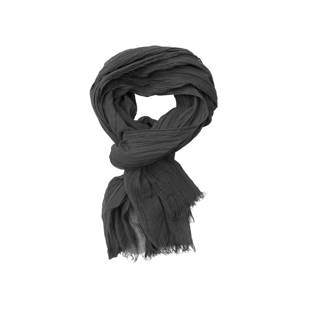 Палантин черный(6C440)Шарфы, платки, палантины из Дании, Dansk Smykkekunst<br>40 % cotton 40 % бук 20 % silk<br>80 x 190 cm<br>