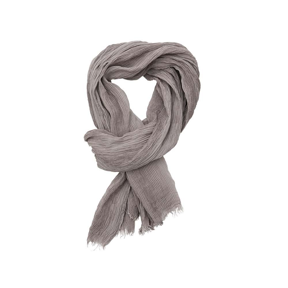 Палантин серый(6C442)Шарфы, платки, палантины из Дании, Dansk Smykkekunst<br>40 % cotton 40 % бук 20 % silk<br>80 x 190 cm<br>
