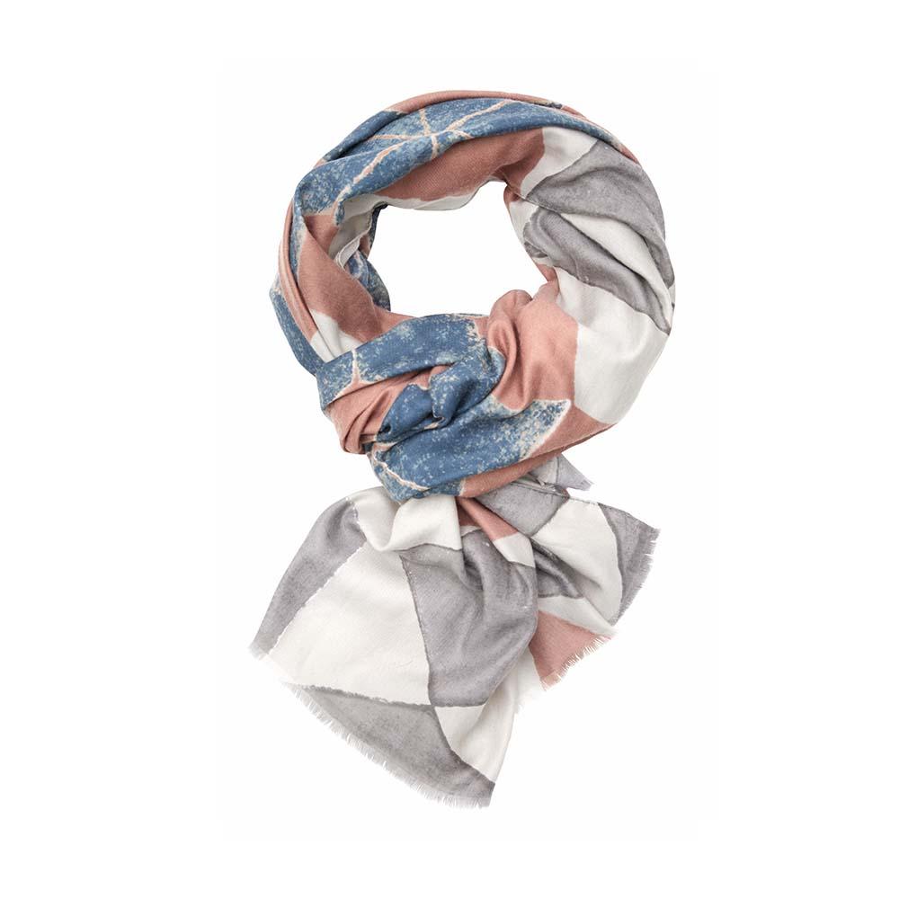 Палантин(6C407)Шарфы, платки, палантины из Дании, Dansk Smykkekunst<br>50 % cotton 50 % viscose<br>85 x 175 cm<br>