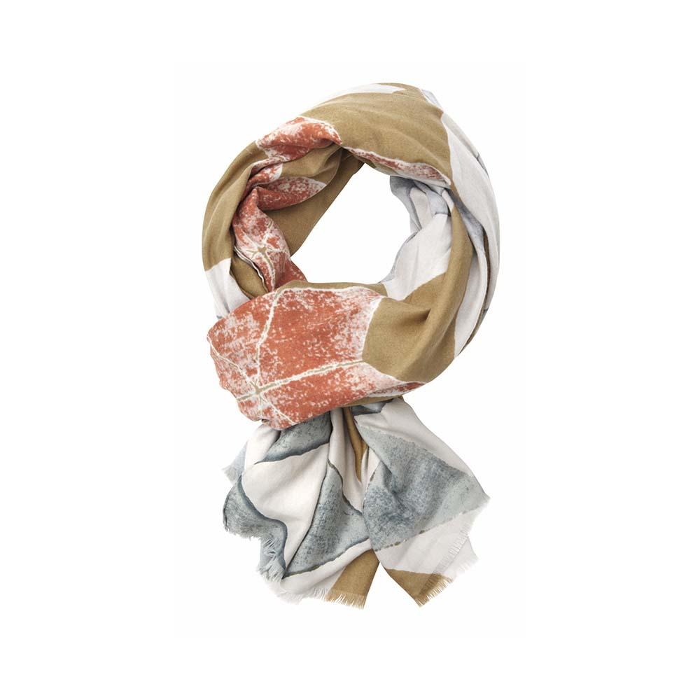 Палантин(6C404)Шарфы, платки, палантины из Дании, Dansk Smykkekunst<br>50 % cotton 50 % viscose<br>85 x 175 cm<br>