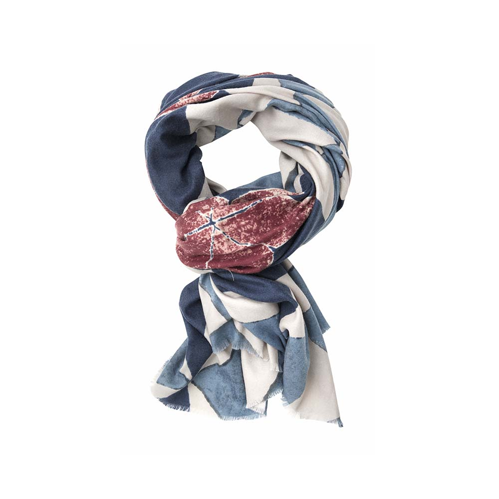 Палантин(6C405)Шарфы, платки, палантины из Дании, Dansk Smykkekunst<br>50 % cotton 50 % viscose<br>85 x 175 cm<br>