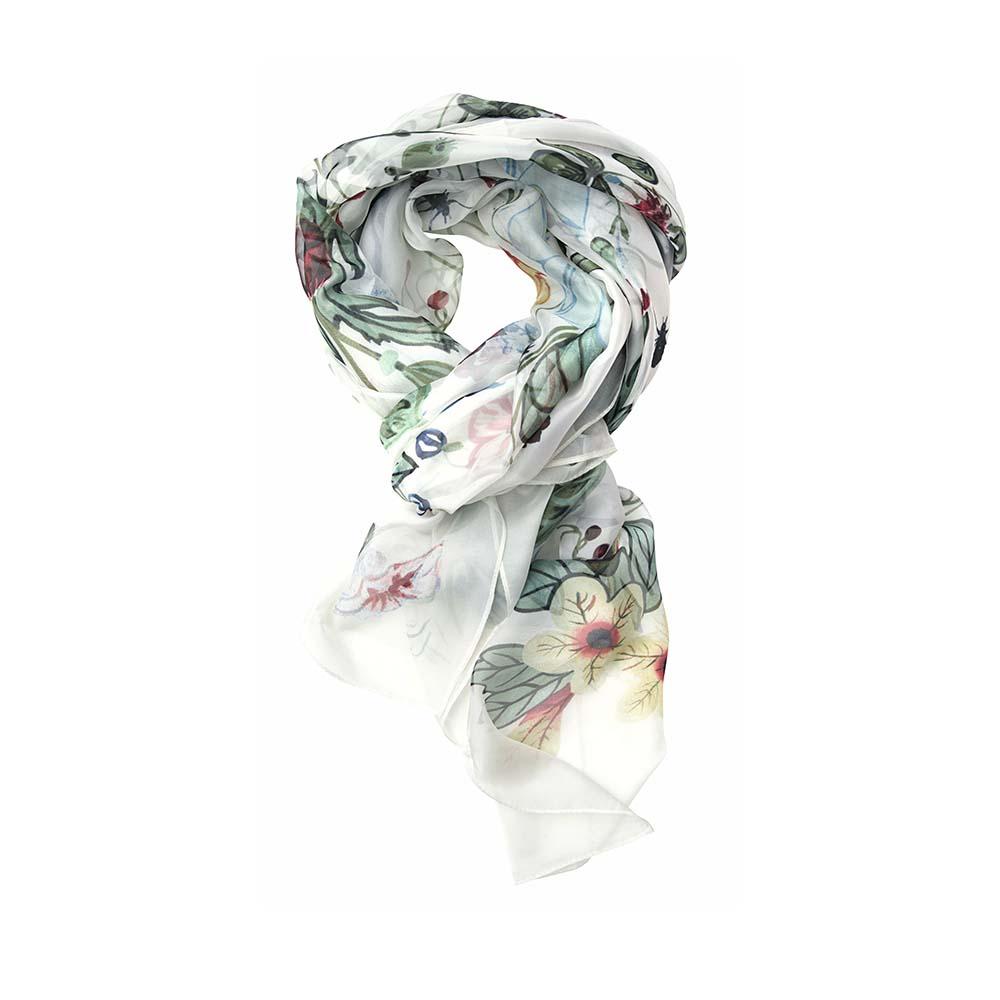 Палантин(6C433)Шарфы, платки, палантины из Дании, Dansk Smykkekunst<br>80 % viscose 20 % silk<br>90 x 180 cm<br>