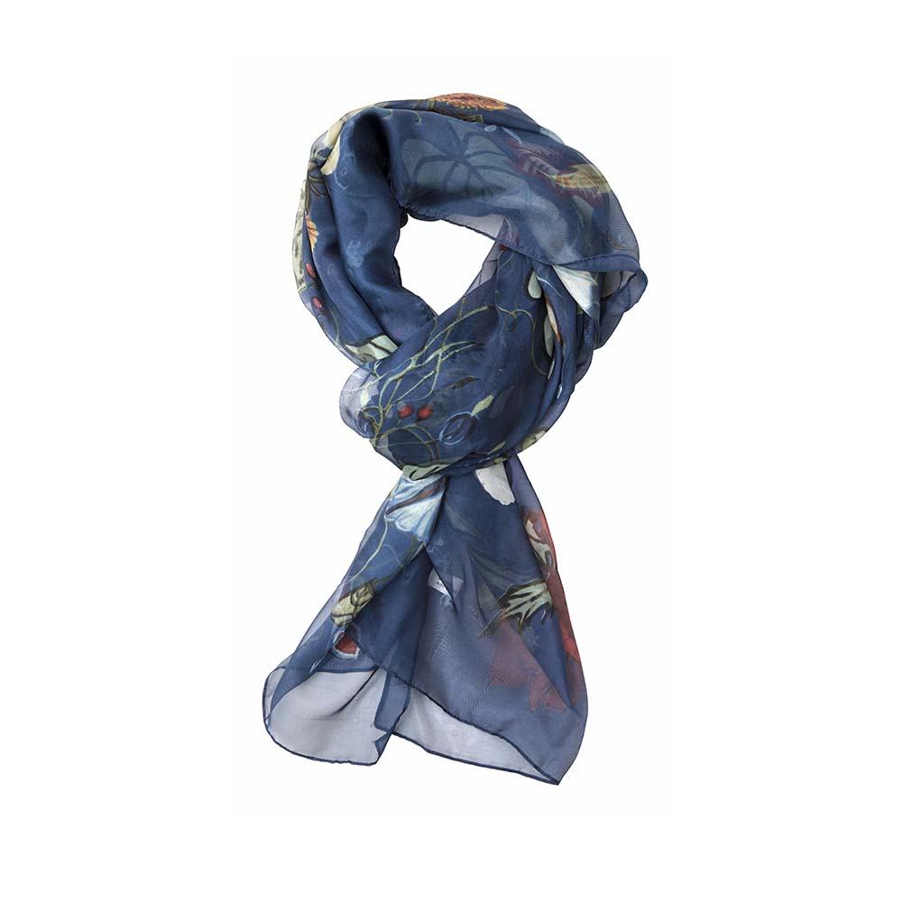 Палантин(6C432)Шарфы, платки, палантины из Дании, Dansk Smykkekunst<br>80 % viscose 20 % silk<br>90 x 180 cm<br>