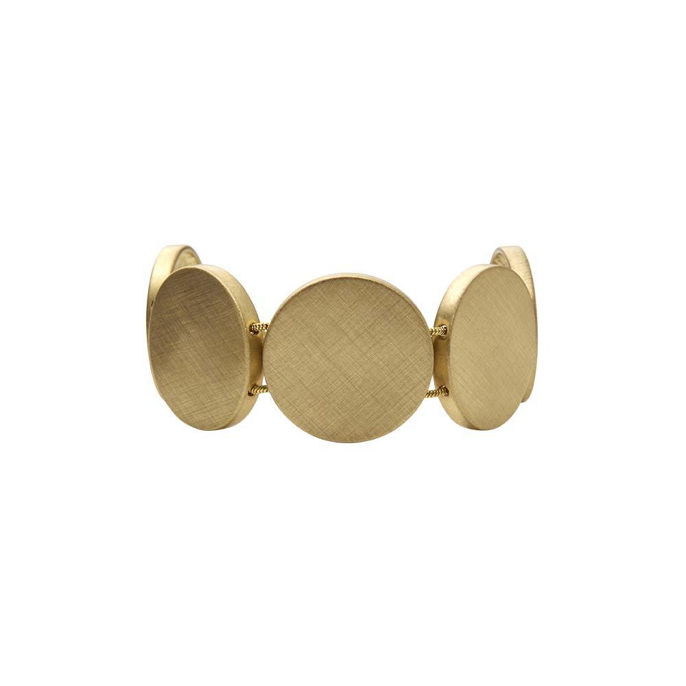 Браслет(7H323)Shanaya<br>Дания, Dansk Smykkekunst<br><br>Металл, покрытый золотом<br>