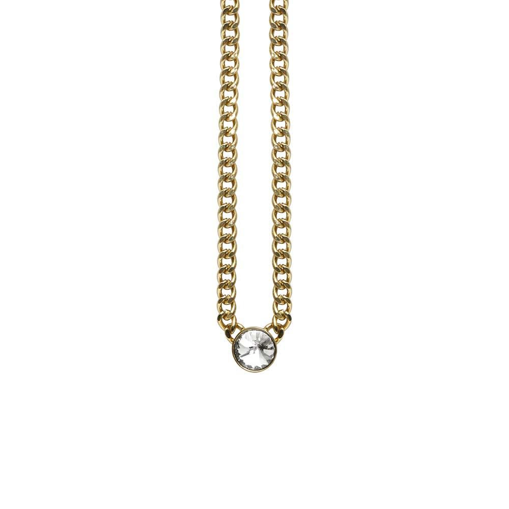 Колье(9H317)Stella<br>Дания, Dansk Smykkekunst<br><br>Гипоаллергенный сплав, покрытый золотом, серебром<br>Длина колье 45 см<br>