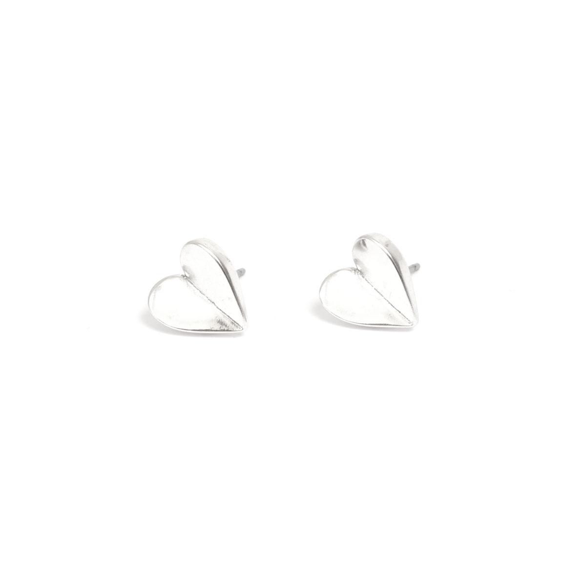 Серьги(1018-0579)Angled Heart<br>Серьги<br>
