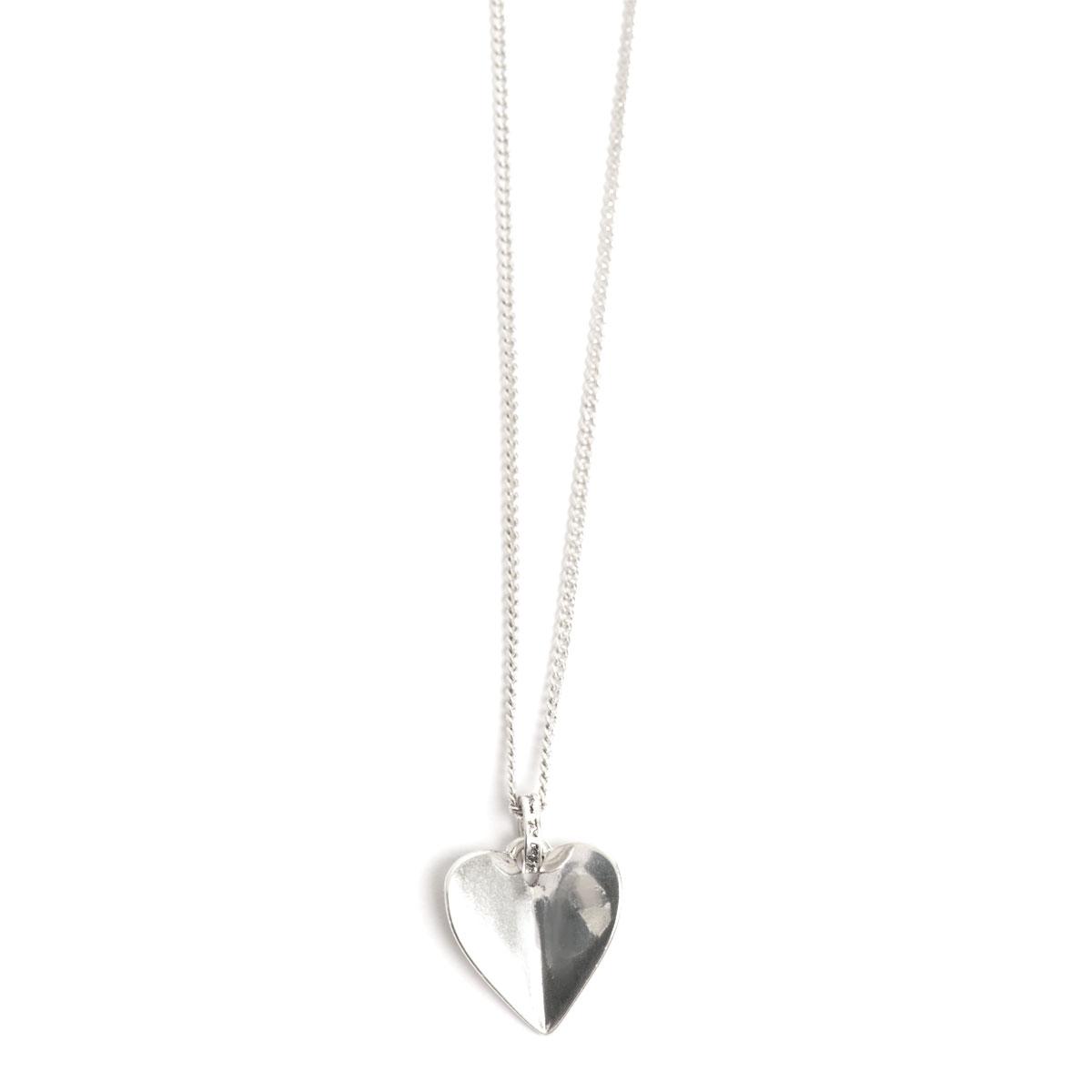 Колье(2018-0650)Angled Heart<br>Длина колье 45 см<br>