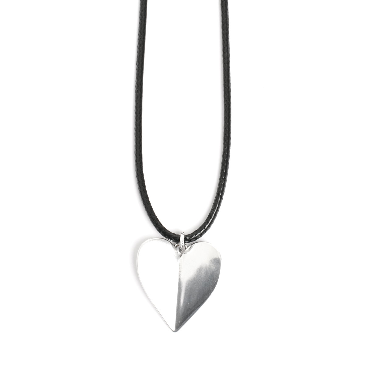 Колье(2018-0651)Angled Heart<br>Длина колье 90 см<br>