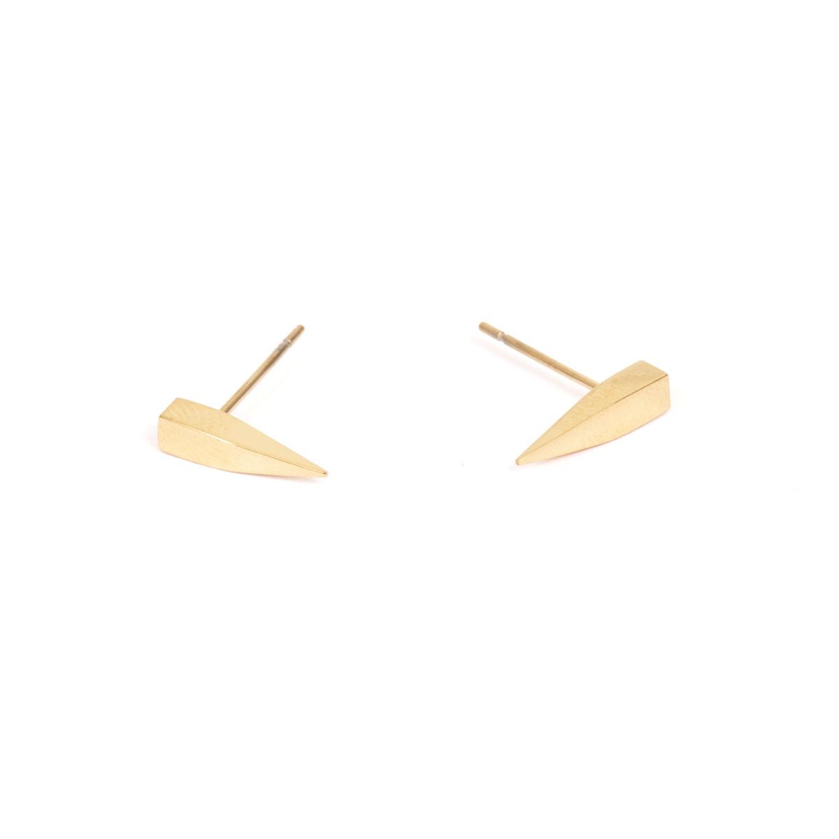 Серьги из стали с покрытием из золота(1046-0102)Бижутерия из стали от Arts&amp;Crafts<br>Arts&amp;Crafts, Норвегия<br><br>Авторский дизайн, ручная работа, ограниченный выпуск.<br>