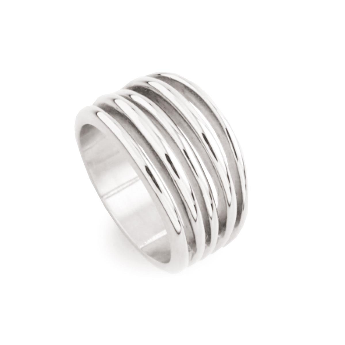Кольцо из стали(4046-0041)Бижутерия из стали от Arts&amp;Crafts<br>Arts&amp;Crafts, Норвегия<br><br>Авторский дизайн, ручная работа, ограниченный выпуск.<br>