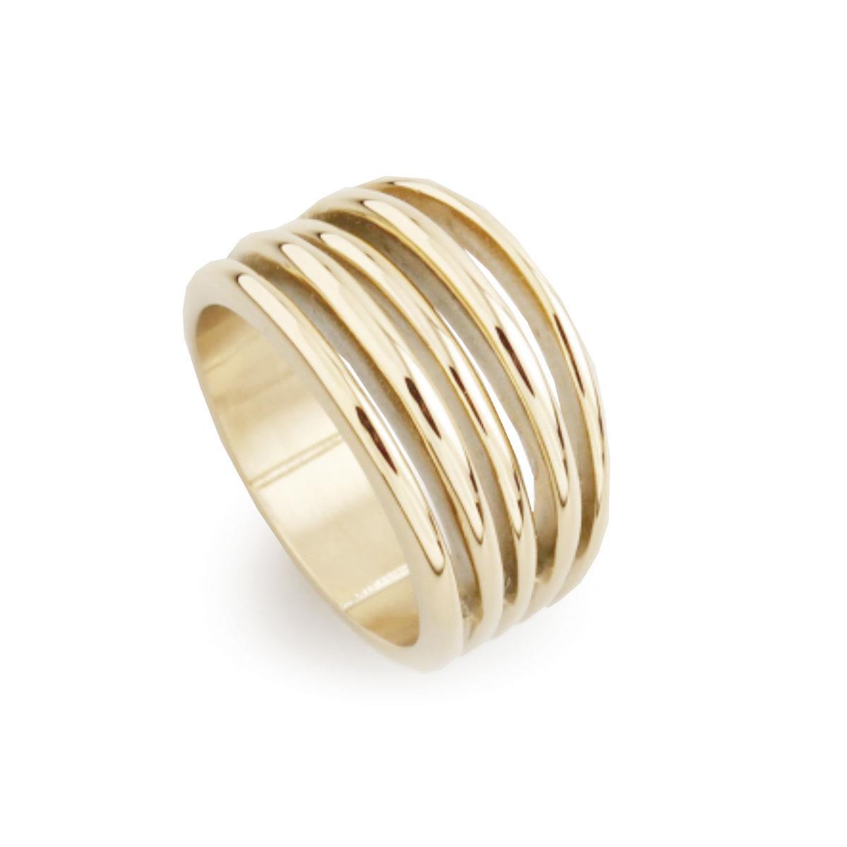 Кольцо из стал(4046-0042)Бижутерия из стали от Arts&amp;Crafts<br>Arts&amp;Crafts, Норвегия<br><br>Авторский дизайн, ручная работа, ограниченный выпуск.<br>