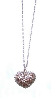 Подвеска на цепочке(2032-1167)Подарки к Дню Святого Валентина<br>Длина цепочки 40 см. Подвеска 3х3,5 см.<br>